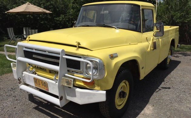 Dad's Present? 1969 International 4X4 Truck