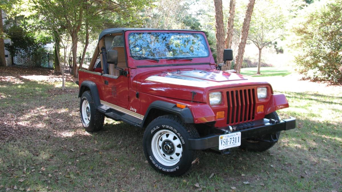 Never This Nice 1987 Jeep Wrangler