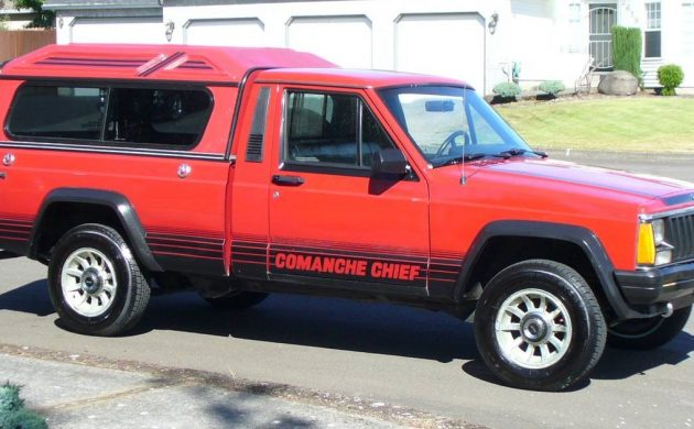 Hail To The Chief: 1987 Jeep Comanche Chief