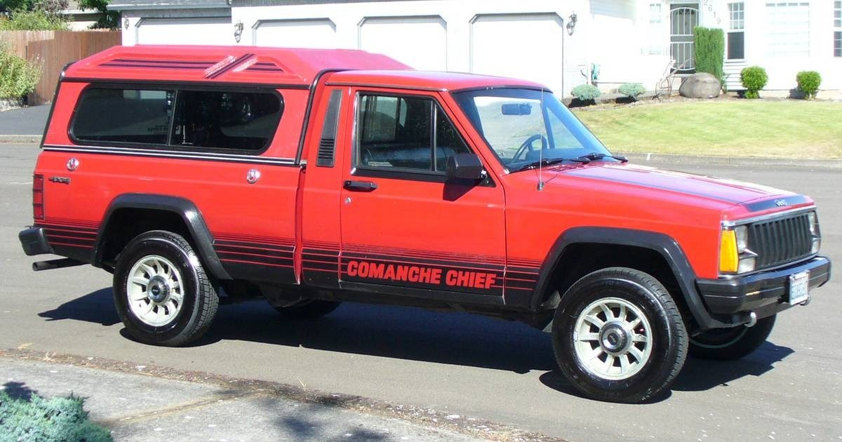 Hail To The Chief: 1987 Jeep Comanche Chief