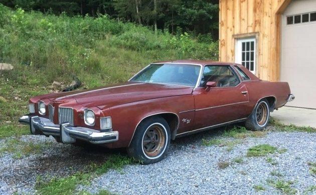 Parked for 20 Years: 1973 Pontiac Grand Prix SJ 455