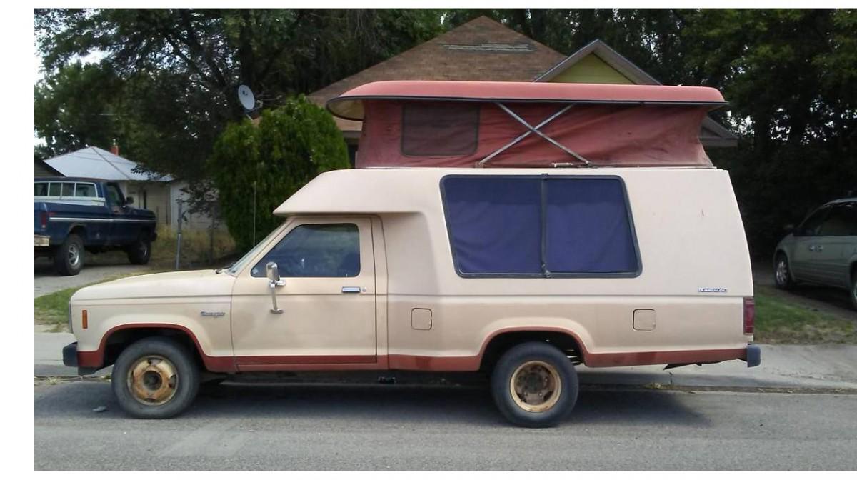 $1,800 Rare Rig: 1984 Ford Ranger Roll-A-Long