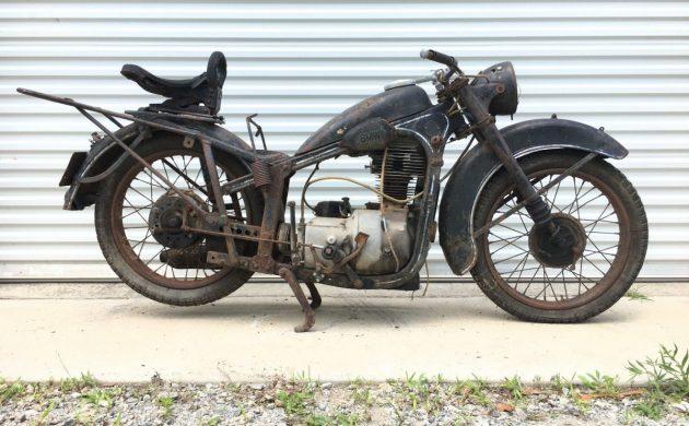 Pre-War Post-War Project: 1950 BMW R35