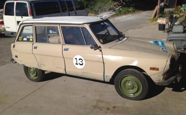 Give Me A Break: 1975 Citroën Ami 8 Break