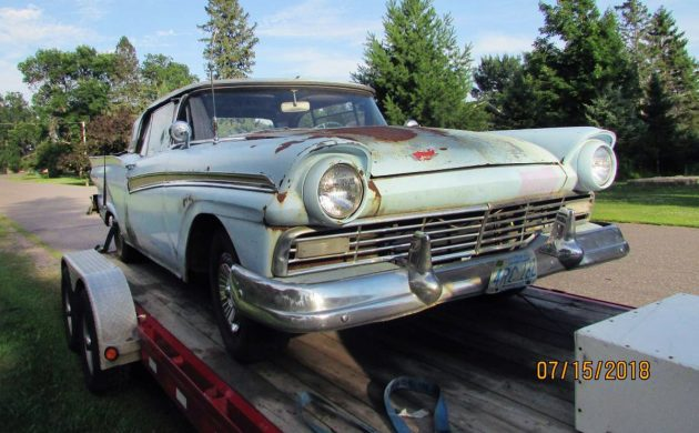 $5,000 Retractable: 1957 Ford Fairlane 500 Skyliner