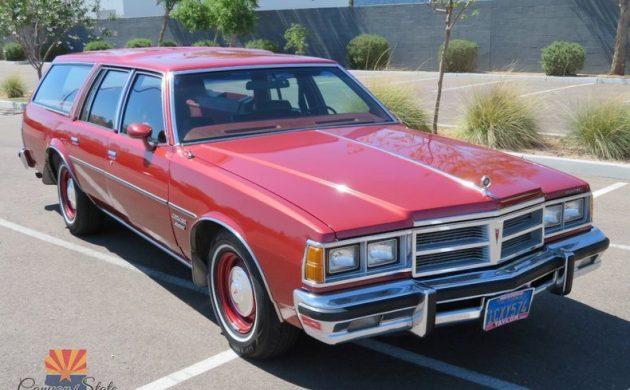 Perfect Poncho: 1977 Pontiac Catalina Safari Wagon