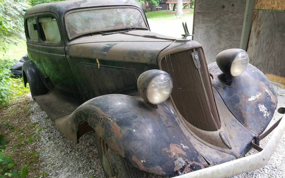 Sell Car For Parts >> Stored Over 50 Years: 1934 Studebaker Dictator