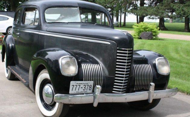 Handsome Bargain: 1939 Nash LaFayette