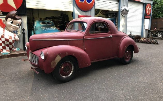 Meant For A Metalworking Michelangelo: 1941 Willys Coupe