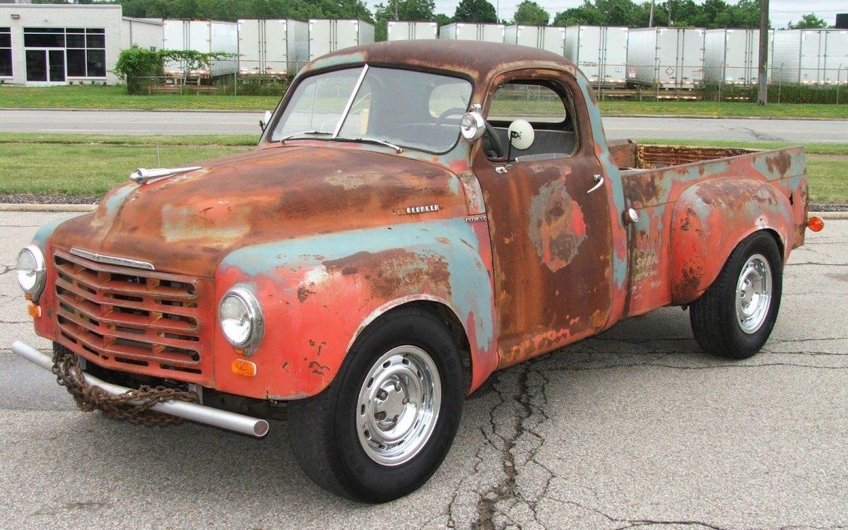 Dodge 5 7 Hemi >> All-Wheel-Drive And Hemi Power? 1950 Studebaker Pickup