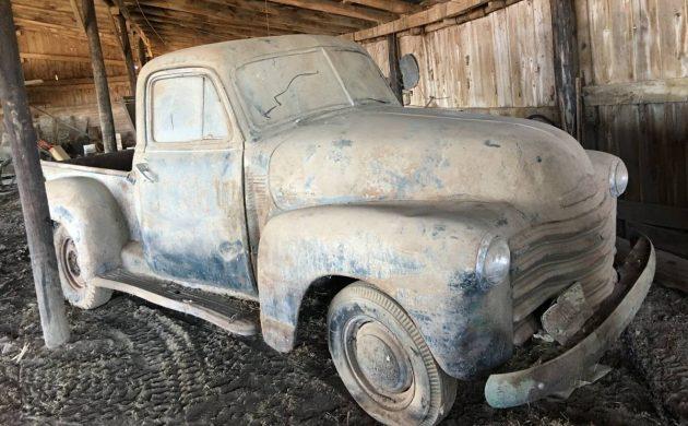 Dandy Dusty Barn Find 1951 Chevrolet Pickup
