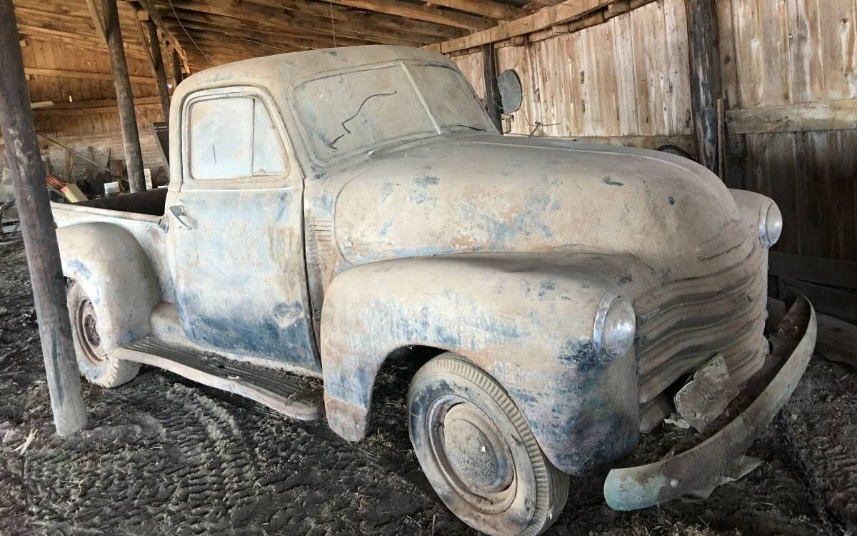 Dandy Dusty Barn Find: 1951 Chevrolet Pickup