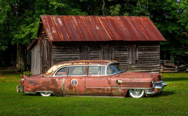 """Not """"Ike's"""": 1955 Cadillac """"Presidential"""" Limousine"""