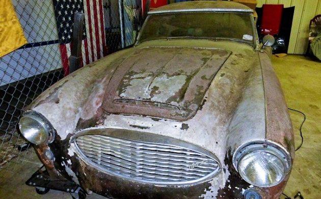 Exclusive: 1958 Austin Healey 100-6