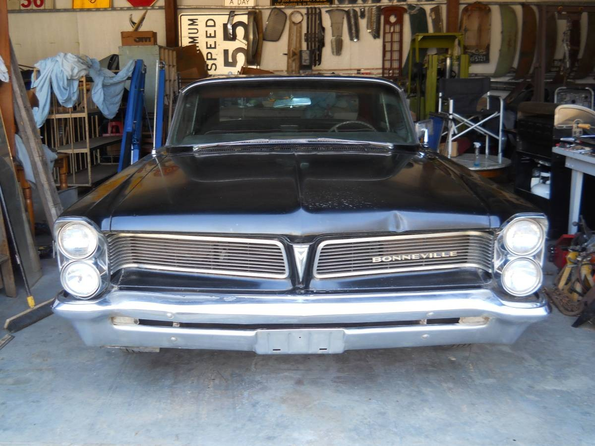 Old Muscle Cars For Sale >> Big Black Pontiac: 1963 Pontiac Bonneville