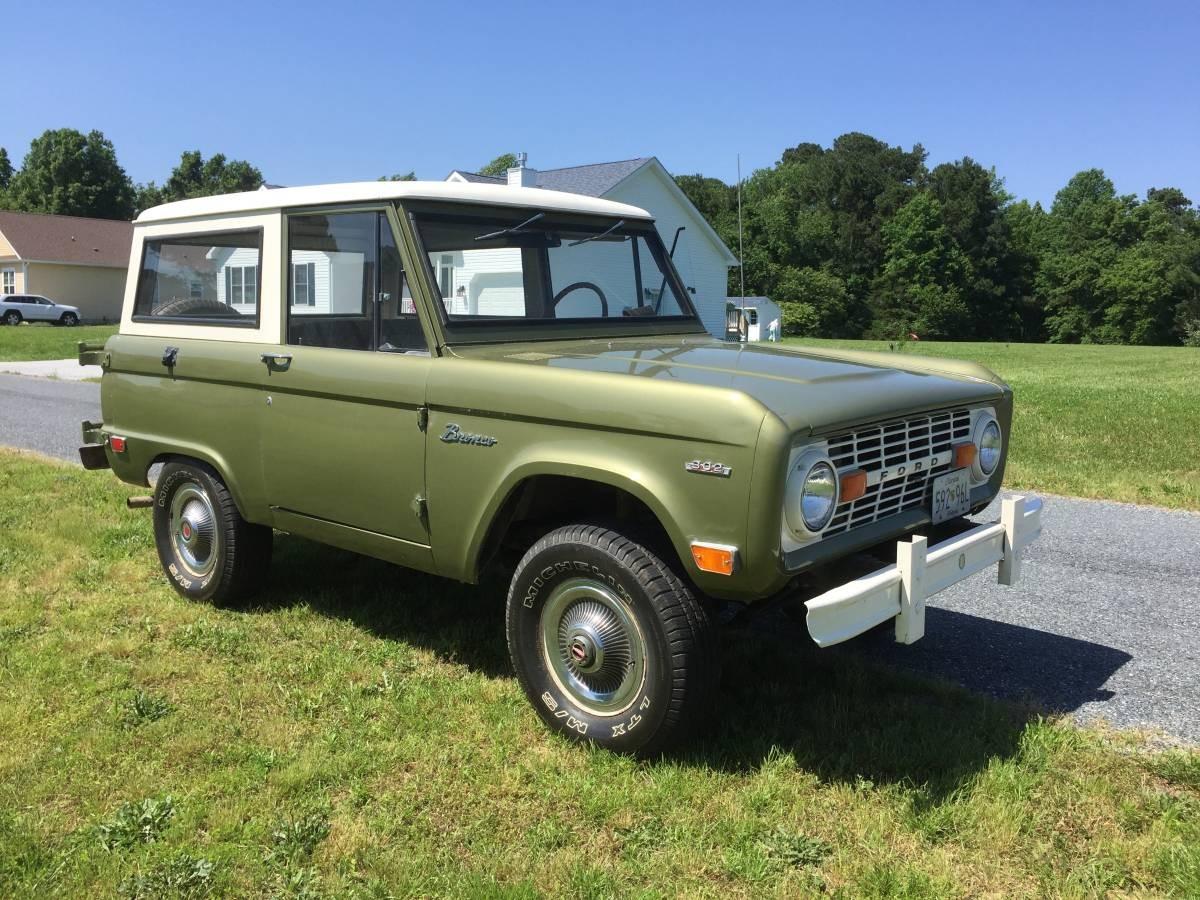 All Original One Owner Survivor 1969 Ford Bronco 1970 Full Size
