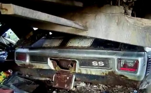 Incredible Video! 1970 Chevelle SS 454 Barn Find!