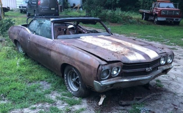 Extra Crsipy: 1970 Chevelle SS Convertible