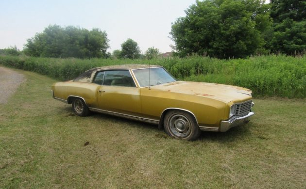 Not So Luxurious: 1972 Chevrolet Monte Carlo