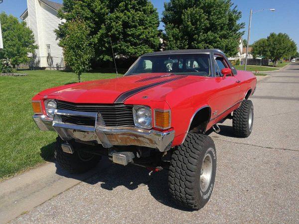 A Real Hybrid: 1972 GMC Sprint 4X4 Diesel