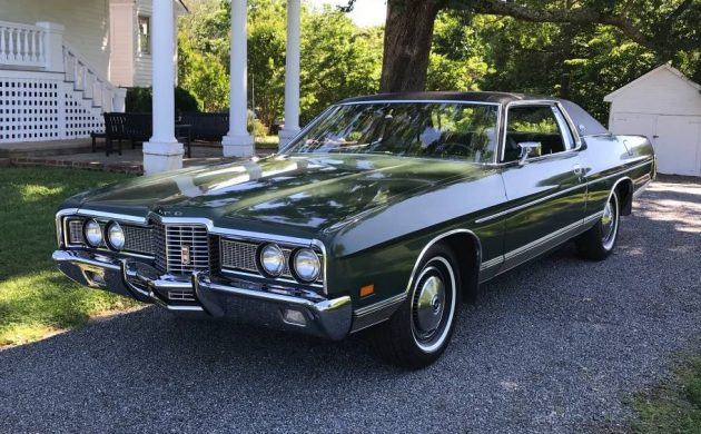 Low-Mileage Survivor: 1972 Ford LTD Coupe