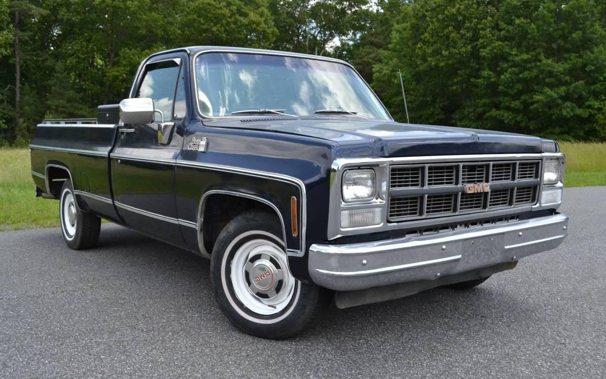 Olds Diesel Power 1980 Gmc Sierra Classic 15
