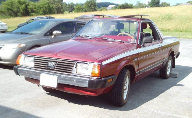 Chicken Tax Beater: 1982 Subaru Brat