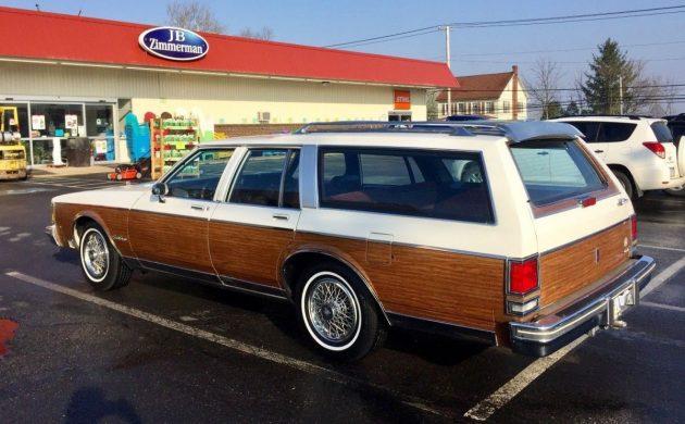 Wood As New: 1988 Oldsmobile Custom Cruiser