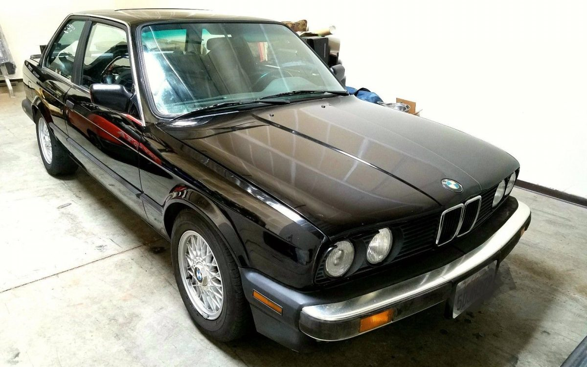 Original Paint 1988 Bmw 325is Barn Finds