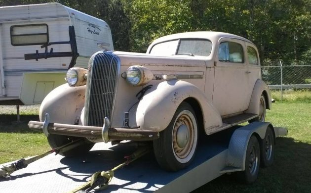 What's Next: 1936 Buick 2-Door Sedan