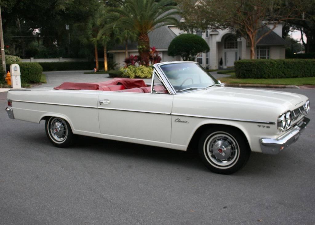 Classic Drop Top 1965 Amc Rambler Classic 770 Convertible