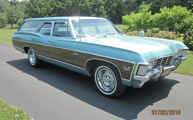 396-3 Speed: 1967 Chevrolet Caprice Wagon