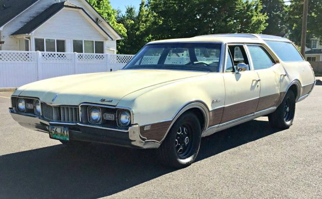 Cheap 'Cruiser: 1968 Oldsmobile Vista Cruiser