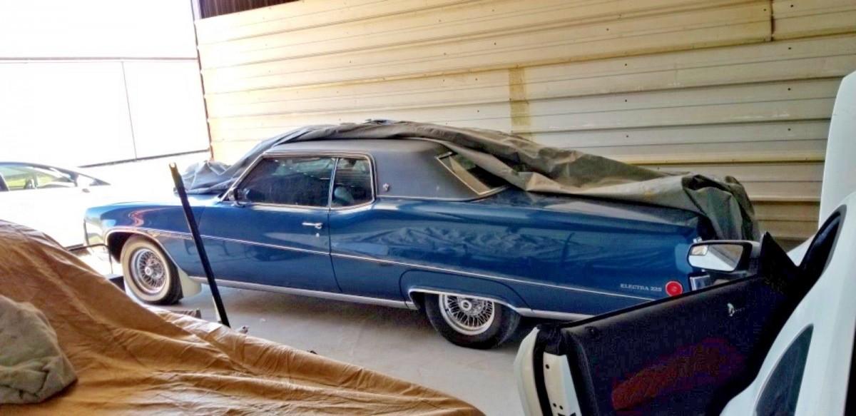 Big Blue 1970 Buick Electra 225
