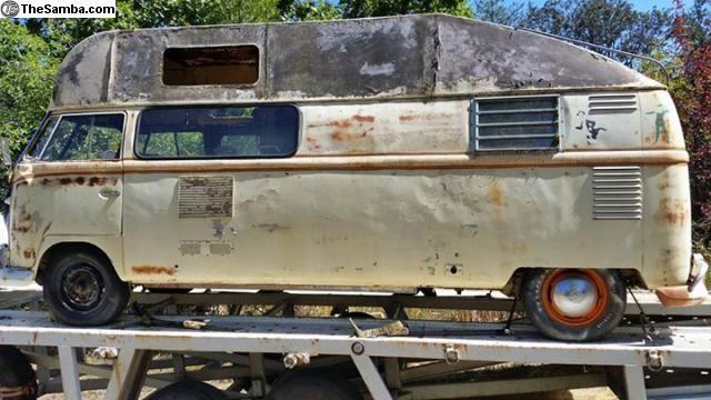 Long Story: 1960 VW Custom Camper Bus