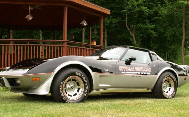 Jackets Included: 1978 Chevrolet Corvette Pace Car