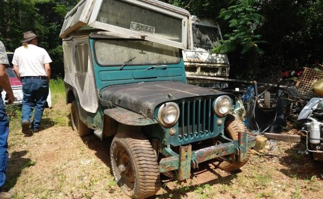 BF Exclusive: 1949 Willys Jeep