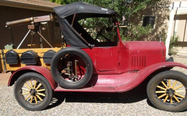 Machine Gun Equipped: 1921 Ford Model T