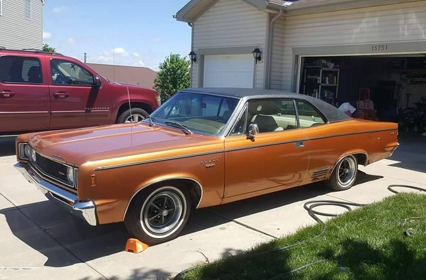 Rebel With A Cause 1969 Amc Rebel Sst