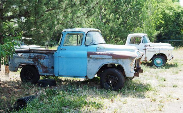 Roadside Sighting: Project Trucks In Idaho