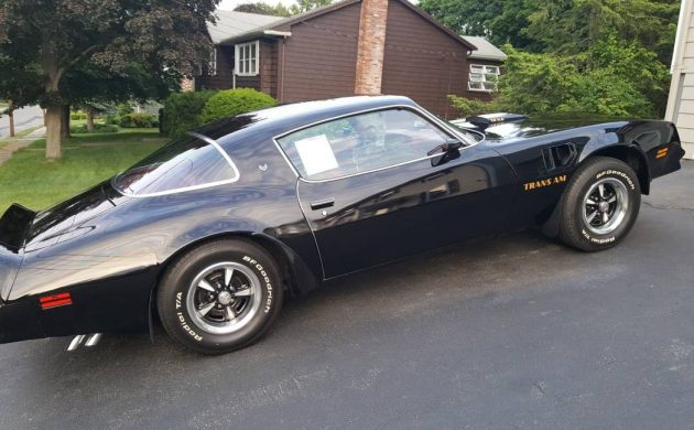 One Owner for 40 Years: 1977 Pontiac Trans Am