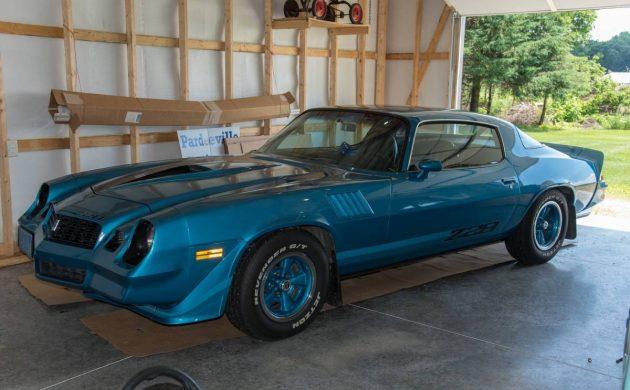 A Beauty In Blue 1979 Chevrolet Camaro Z28