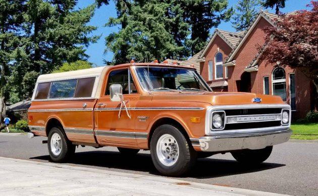 Bronze Over Gold: 1970 Chevrolet C20 Camper Special