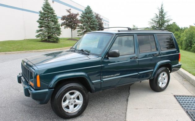 Low Mileage and Stock: 1998 Jeep Cherokee