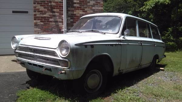 From Across The Pond: 1967 Ford Cortina Estate