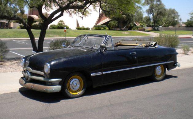 California Convertible: 1950 Ford V-8