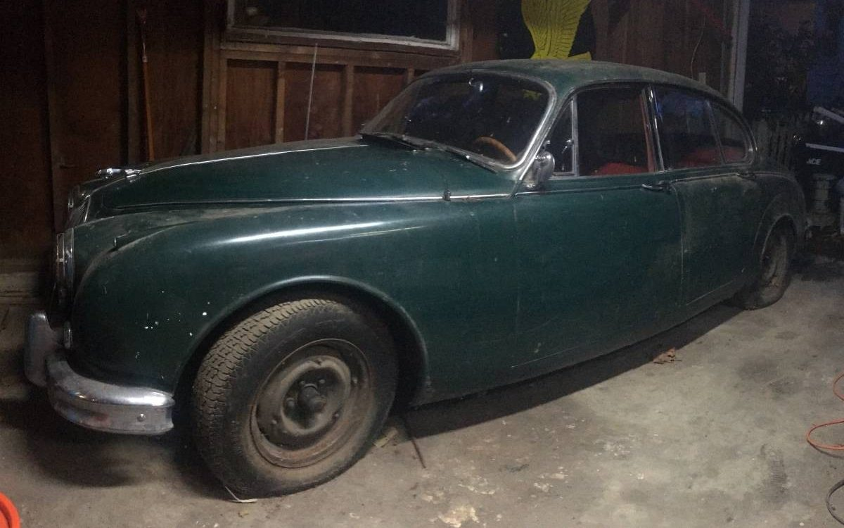Cat-Like Barn Find: 1962 Jaguar Mk2
