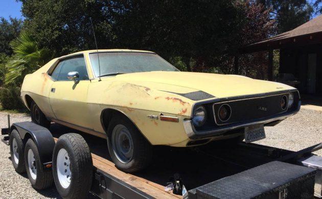 California Dreaming: 1971 AMC Javelin AMX Z Code