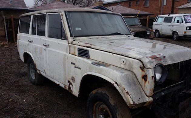 FJ Hoarding: Toyota Land Cruiser FJ55 Collection