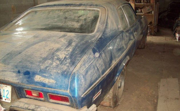 No Va Since 1996: 1973 Chevrolet Nova Custom Hatchback